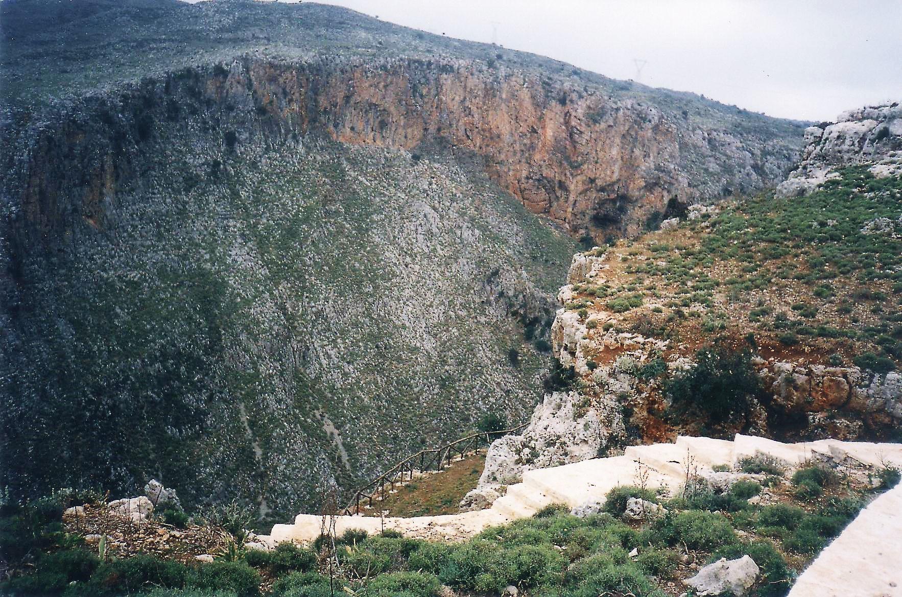 Δήμος Λαππαίων_Φαράγγι ποταμού Πετρέ