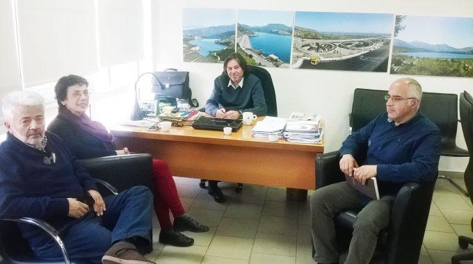 Ενημέρωση της Βουλευτού ΣΥΡΙΖΑ Βάλιας Βαγιωνάκη για θέματα του Ο.Α.Κ. Α.Ε.